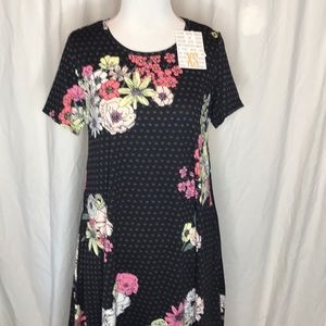 LuLaRoe Jessie Dress floral